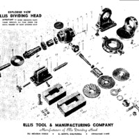 Ellis Dividing Head Exploded View